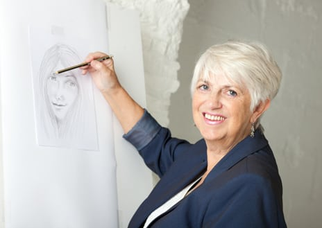 New Website and Portraits for Medium and Psychic Artist in Cornwall