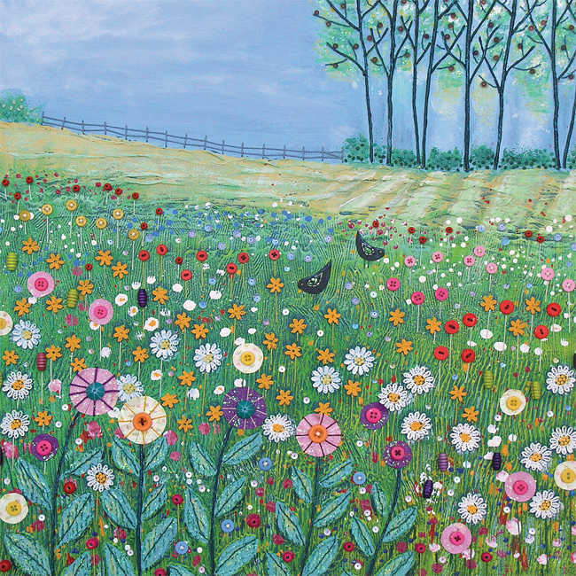 JG009 Field of Flowers -0