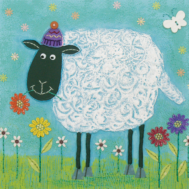 JG016 Woolly Sheep -0