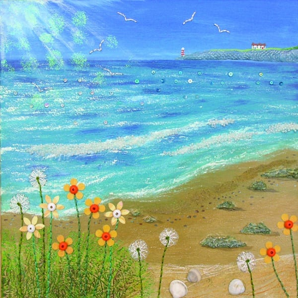 JG017 A Bright Day by the Sea-2903