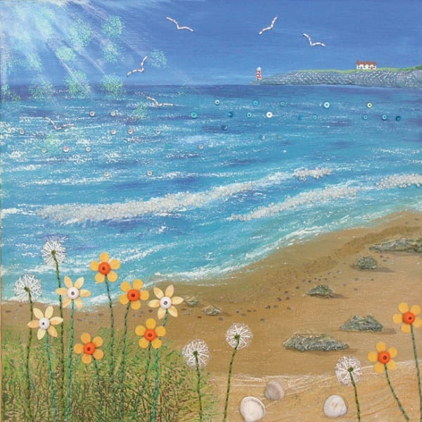 JG017 A Bright Day by the Sea-0