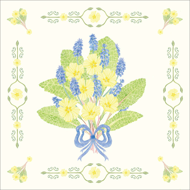 SF107 Primroses & Grape Hyacinth-0