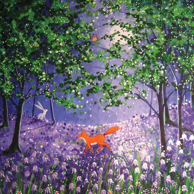 AL104 Midnight in the Bluebell Wood-0