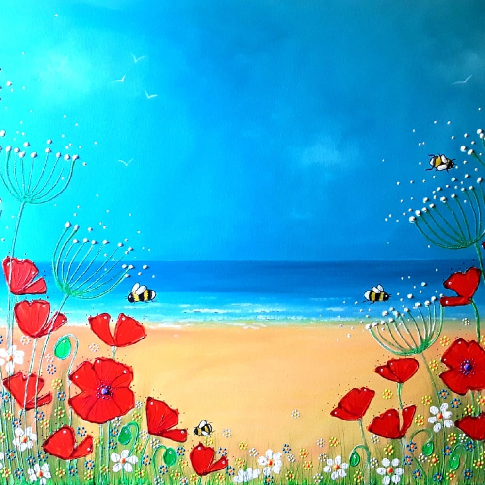 Poppies Angie Livingstone Nethertons Greeting Cards