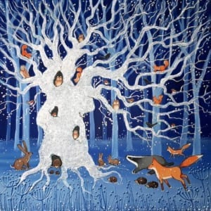 Oak Tree Angie Livingstone Nethertons Greeting Cards
