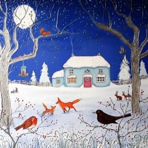 Winter Garden Angie Livingstone Nethertons Greeting Cards