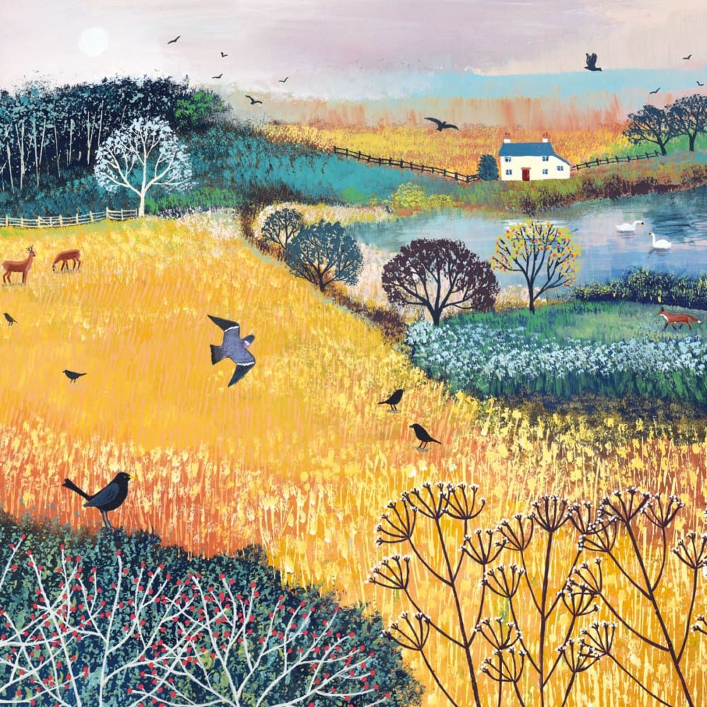 Field Jo Grundy Nethertons Greeting Card