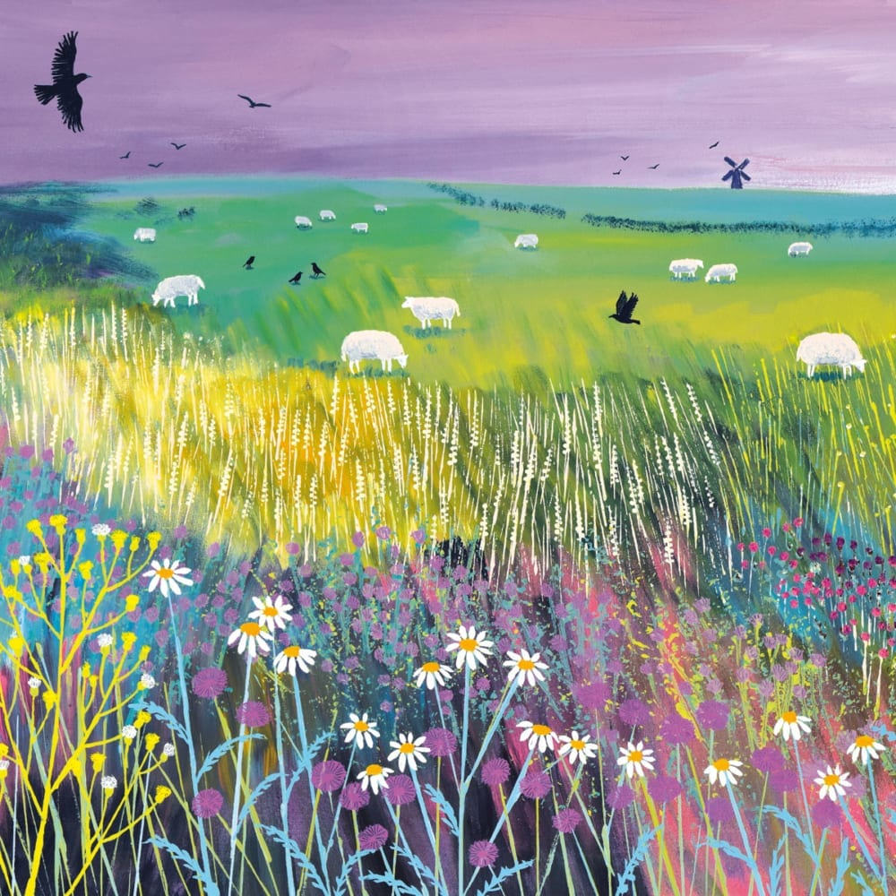 Meadow Jo Grundy Nethertons Greeting Card