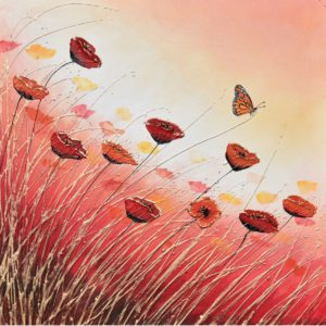 Poppies Red Sunset Flowers Amanda Dagg General Christian