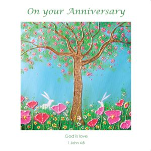 Summer Tree Spring Rabbit Hare Angie Livingstone Anniversary Christian