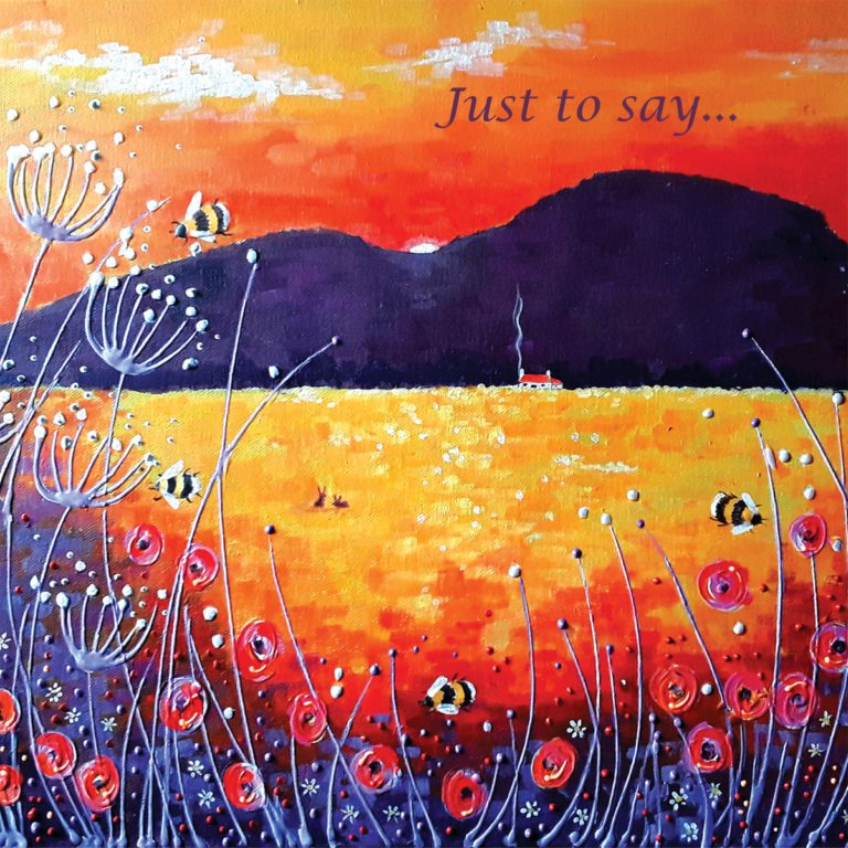 Sunset Mountains Meadow Angie Livingstone Say Christian