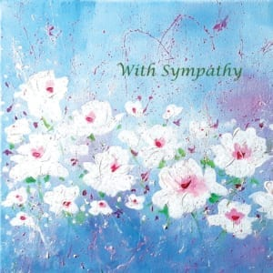 Blue White Flowers Flowers Angie Livingstone Sympathy Christian