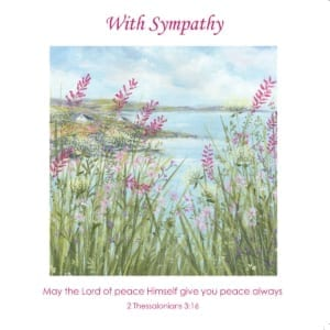 Water Heather Reeds Diane Demirci Sympathy Christian