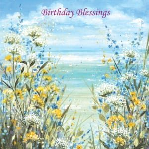 Sea Coastal Flowers Diane Demirci Birthday Christian