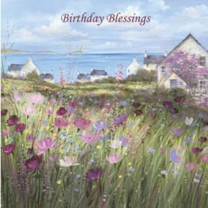 House Meadow Flowers Diane Demirci Birthday Christian
