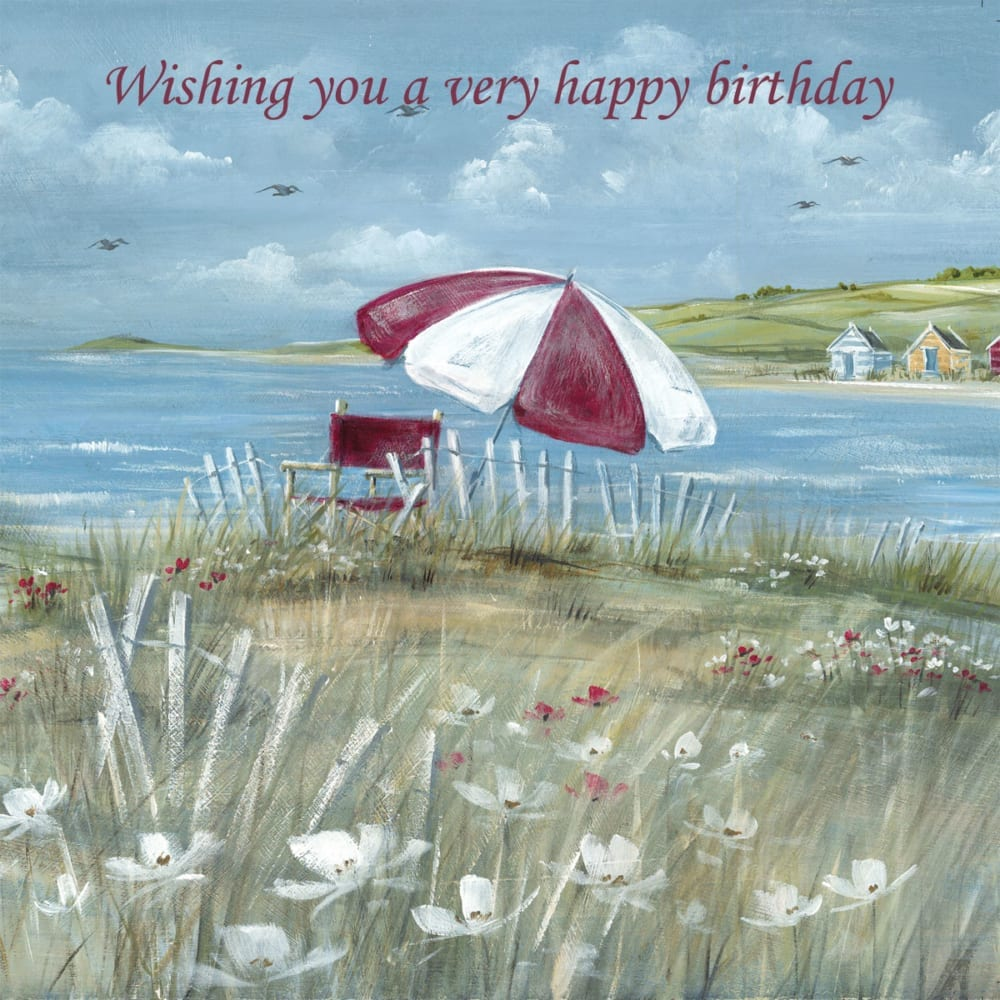 Beach Parasol Umbrella Grass Flowers Summer Diane Demirci Birthday Christian