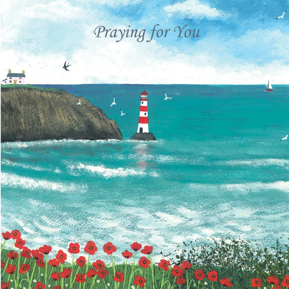 Bay Lighthouse Sea Ocean Cottage Jo Grundy Praying Christian