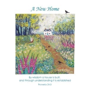 Country Walk Path Fields House Home Birds Jo Grundy Home Christian