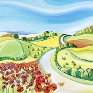 Poppies Countryside Carolyn Tyrer Nethertons