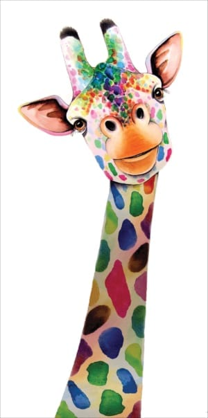 Rainbow Giraffe Maria Moss General Christian