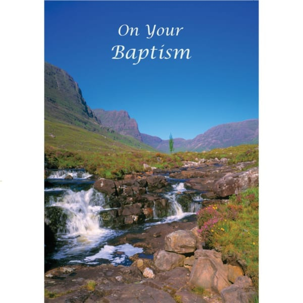Landscape Country Waterfall VKGuy Baptism Christian